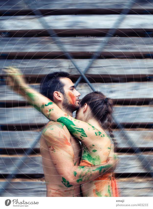 painted with love Mensch Jugendliche Junge Frau Erwachsene Junger Mann 18-30 Jahre feminin Paar außergewöhnlich maskulin frei trendy frech rebellisch