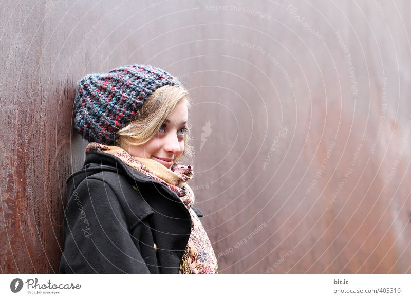 wer rastet, der rostet Mensch Kind Jugendliche schön Freude Junge Frau feminin lachen Glück träumen blond Zufriedenheit Fröhlichkeit 13-18 Jahre Seil einzigartig