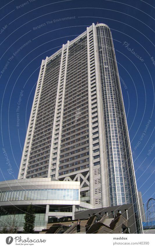 tokyo dome hotel Asien Japan Tokyo Ferien & Urlaub & Reisen Hotel Hochhaus Architektur architecture modern Perspektive kenzo tange associates