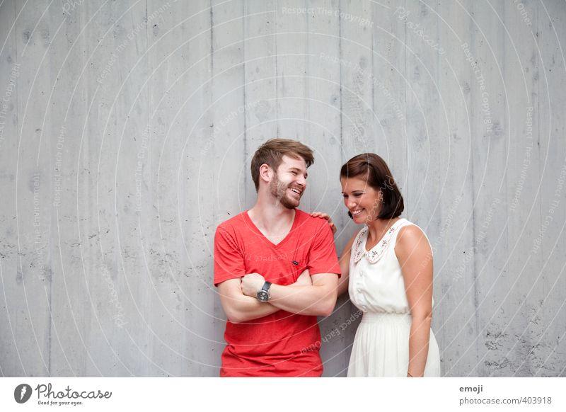 Freu(n)de Mensch Jugendliche schön Junge Frau Erwachsene Junger Mann 18-30 Jahre feminin lachen Paar Freundschaft maskulin Fröhlichkeit Lebensfreude Geschwister
