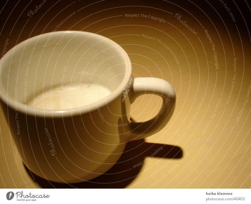 Tasse Becher Kaffetasse Kaffebecher Milchschaum