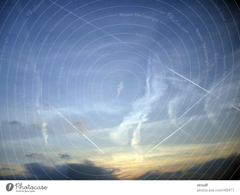 Lucy in the sky Himmel Sonne Wolken Streifen