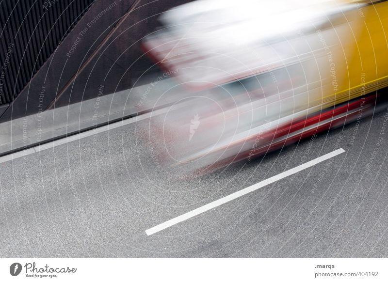 Auf Achse Straße Bewegung Stil Arbeit & Erwerbstätigkeit Verkehr Geschwindigkeit fallen Güterverkehr & Logistik rennen trendy Dienstleistungsgewerbe Fahrzeug