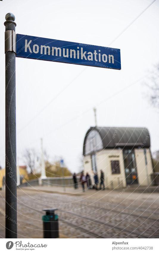 ...wirkt nachhaltig Kommunikation Kommunizieren kommunikation Sprache reden Hintergrund neutral ausspre Buchstaben Schriftzeichen Schilder & Markierungen