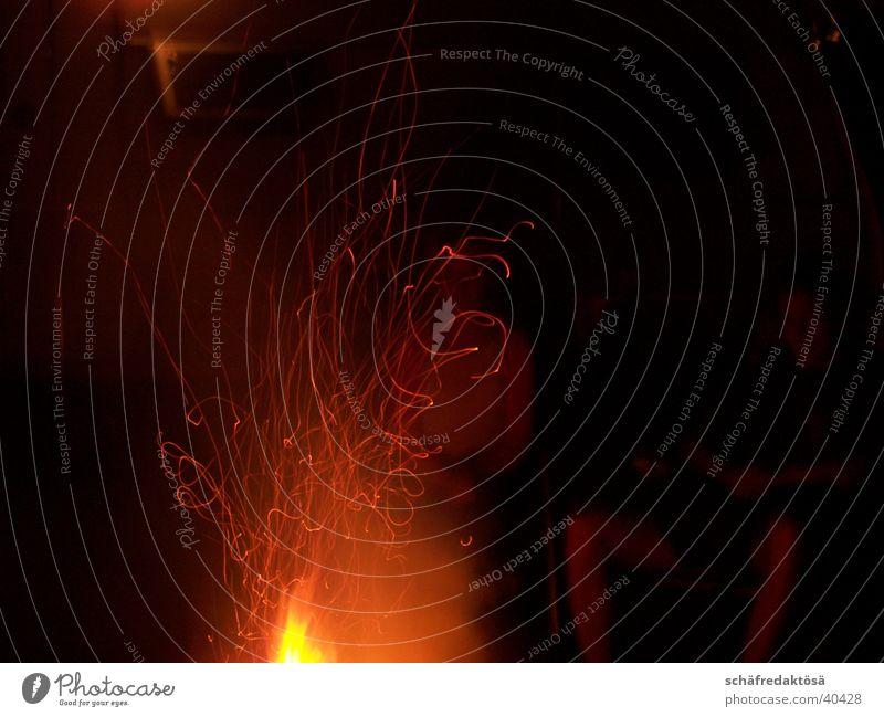 Feuer rot Wärme Brand Romantik Physik Flamme Feuerstelle