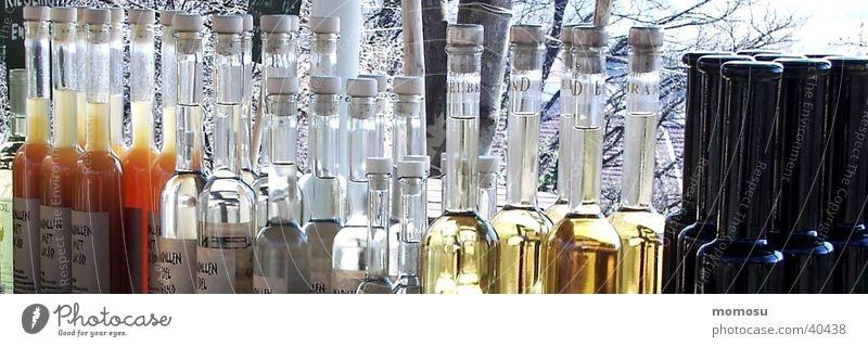 flaschengallerie Spirituosen Freizeit & Hobby Flasche Schnapsbude Detailaufnahme Alkohol Melk