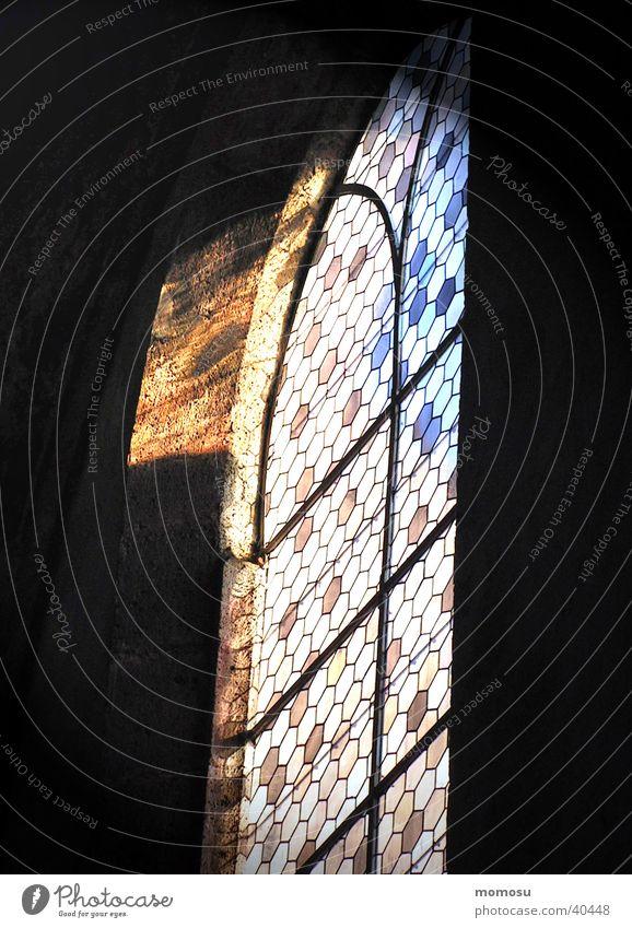 Lichteinfall Kirchenfenster mehrfarbig historisch Religion & Glaube Gotteshäuser Glas