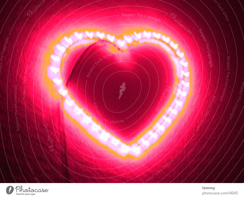 glowing heart... Liebe Dinge do you this ???