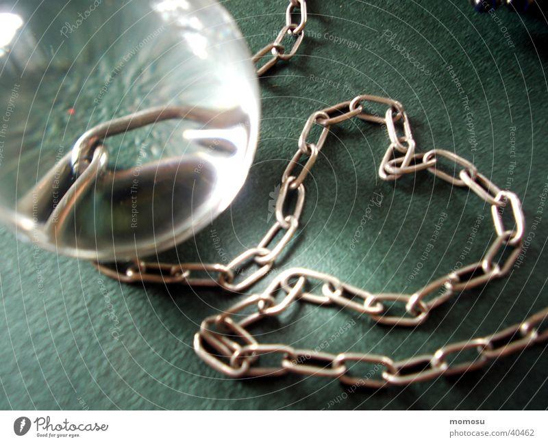 herz in ketten gefangen Herz Kette Kugel Liebe Glas