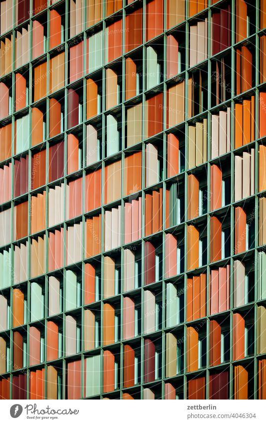 GSW, Berlin, Fassade abend architektur berlin büro city deutschland dämmerung froschperspektive hauptstadt haus hochhaus innenstadt mitte modern neubau platz