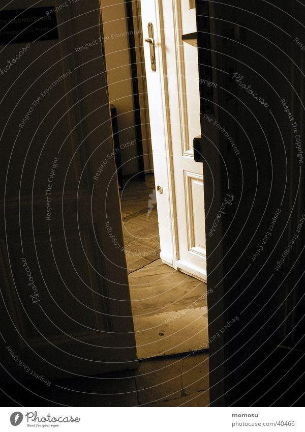 therapy Tür offen Häusliches Leben Eingang Spalte Chance Lichteinfall