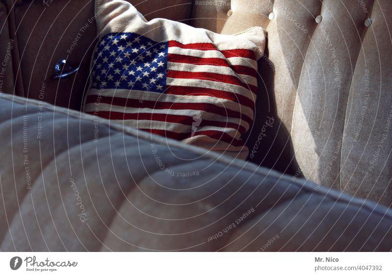 US Oldtimer USA streifen Sterne Symbole & Metaphern patriotisch Patriotismus Stripes Stars Vereinigte Staaten von Amerika Freiheit Flagge Stars and Stripes