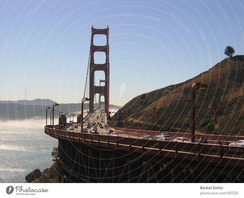 Brückenschlag Konstruktion Brückenbau Verkehr Fluss Wasser Architektur