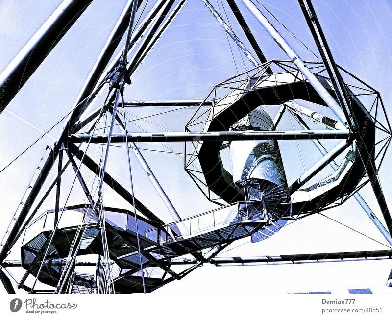 Tetraeder in Bottrop Architektur Ruhrgebiet Halde