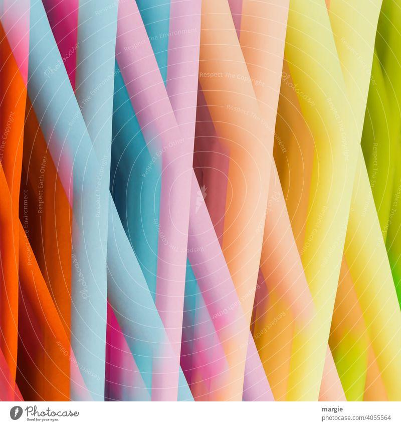 Illusion | Es ist nicht das, nach dem es aussieht! farbenfroh Farbe bunt mehrfarbig bunt gemischt Form Nahaufnahme Menschenleer Gebilde experimentieren