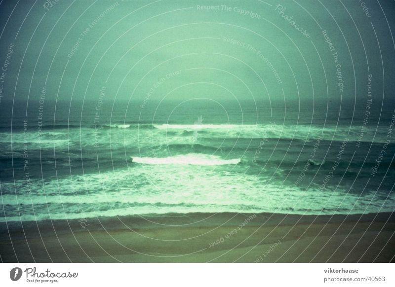 Atlantik Strand Ferien & Urlaub & Reisen Wellen Brandung Portugal