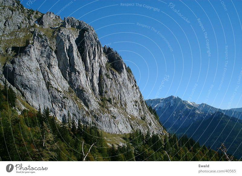 Hochschwab Berge u. Gebirge Felsen Klettern Blauer Himmel Bergwanderung