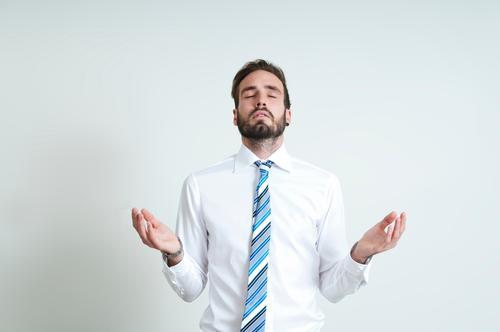 Glaube Mensch Jugendliche Erholung 18-30 Jahre Erwachsene Business maskulin Büro Erfolg Energie Studium Bildung Geldinstitut Erwachsenenbildung Student Sitzung