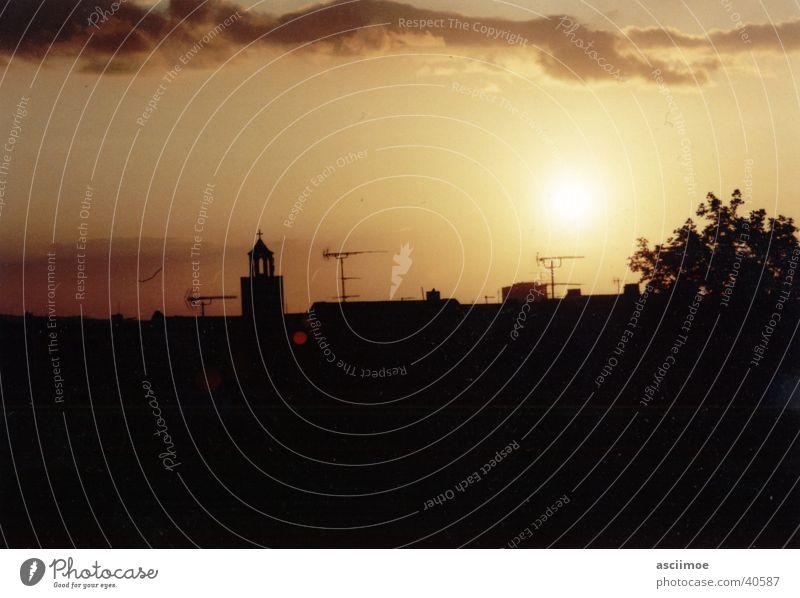 my sundown no.02 Sonnenuntergang
