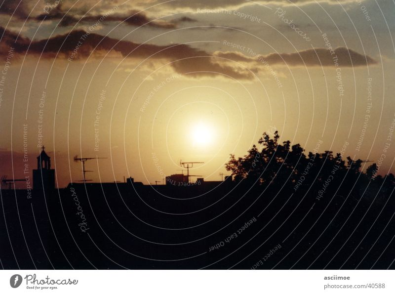 my sundown no.01 Sonnenuntergang