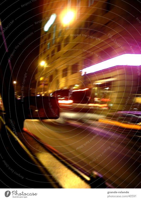 Cleveland at night Stadt PKW Verkehr fahren Nachtleben