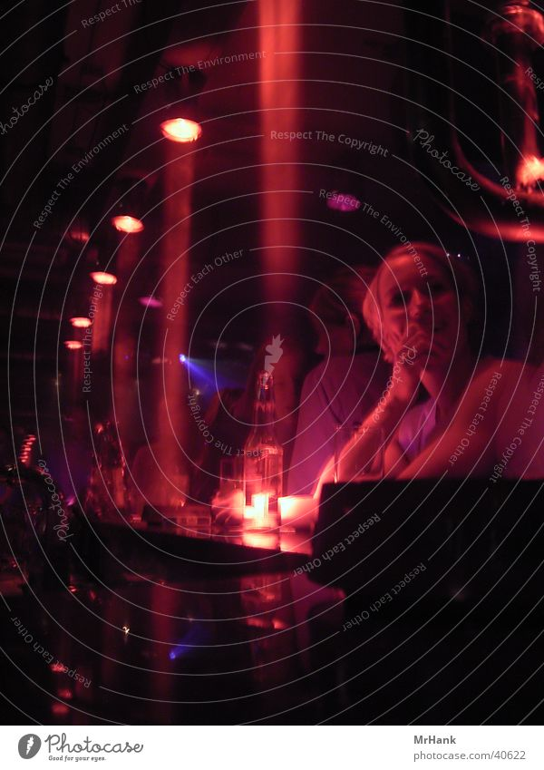 RedLight Bar Theke Club Nachtleben Disco Dinge Ampel Scheinwerfer Smalltalk