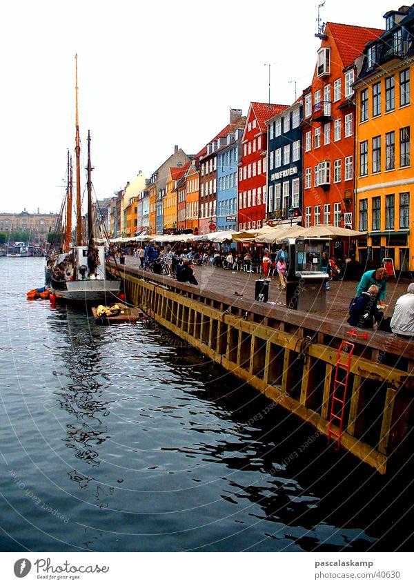 Kopenhagen Haus Europa Skandinavien Hafen Vendée Frankreich Dänemark Le vieux Port