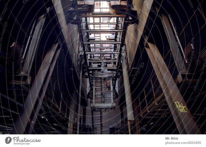 Alles aus Stahl Stahlträger Stahlkonstruktion Stahlwerk Metall Eisen Industrie Rost Industrieanlage Zeche Schwerindustrie Stahlindustrie Stahlgewinnung