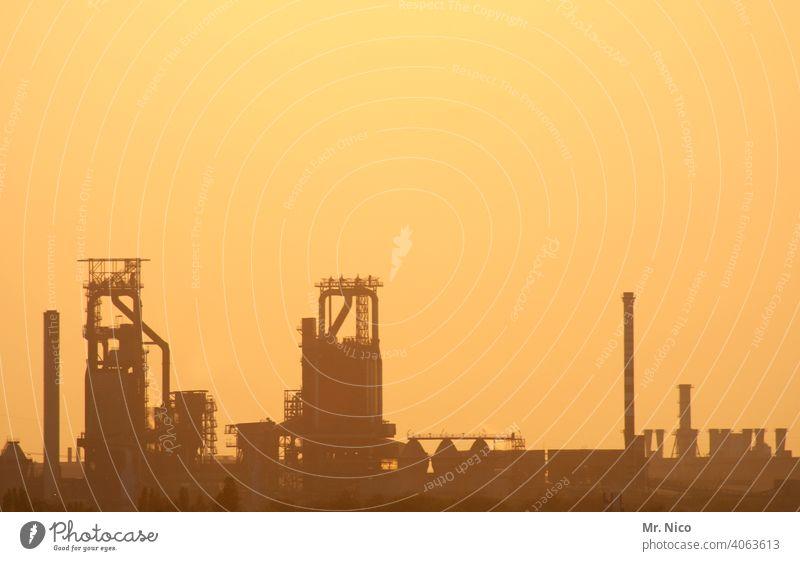 Industrieromantik Schadstoff dreckig Klimaschutz Energiewirtschaft Stahlindustrie Umweltverschmutzung Industriearchitektur Hochöfen Schwerindustrie Emission