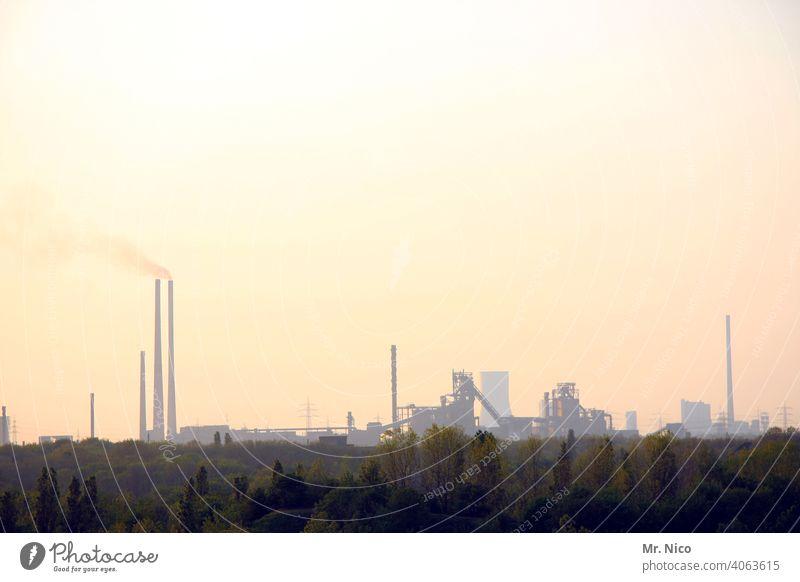 Luftverschmutzung Schadstoff Kraftwerk dreckig Energiewirtschaft Klima Klimaschutz Rauch Chemiewerk Chemieindustrie Umweltverschmutzung Abgas Stahlindustrie