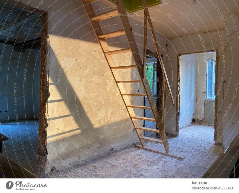 eimer. Baustelle Konstruktion Architektur Menschenleer Bauwerk Strukturen & Formen Tag Handwerk Arbeitsplatz Arbeit & Erwerbstätigkeit bauen Farbfoto Handwerker