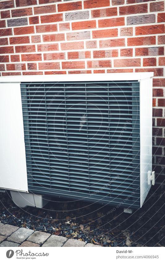 Luftwärmepumpe - eine ökologische, moderne & umweltfreundliche Heizung Luftwasserwärmepumpe Wärme Wärmepumpe Heizungstechnik Umweltschutz innovativ nachhaltig