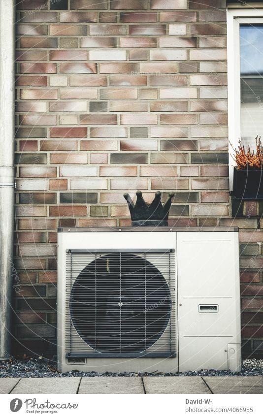 Luftwärmepumpe - modern und umweltfreundlich heizen heiztechnik Energiegewinnung Energiewirtschaft nachhaltig innovativ ökologisch Wärmegewinnung