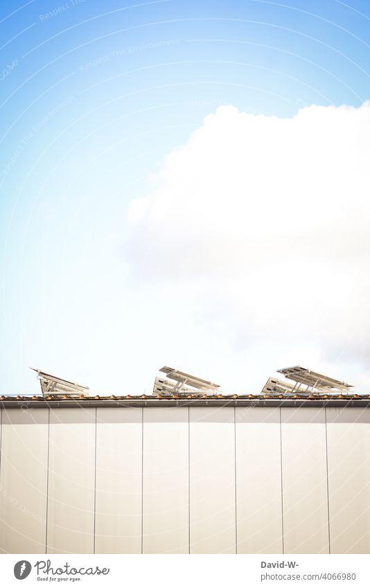 Solarzellen und Sonnenenergie Photovoltaik Solarenergie innovativ Solarmodul Sonnenschein Umwelt Energiewirtschaft Erneuerbare Energie Umweltschutz Sonnenlicht