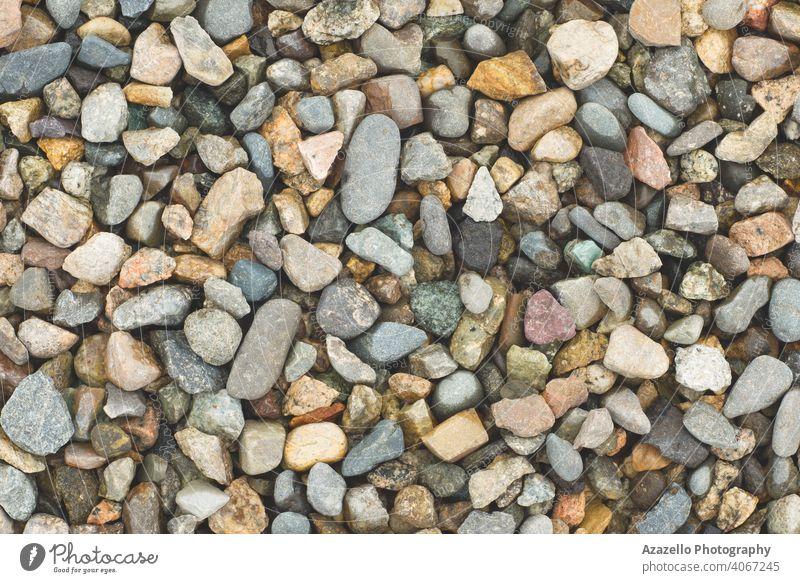 Nasse Steine am Seeufer abstrakt Ordnung Hintergrund Basalt Strand blau Nahaufnahme Farbe farbenfroh dunkel Dekoration & Verzierung dekorativ Design