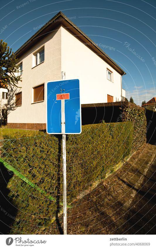 Sackgasse architektur berlin büro city deutschland einfamilienhaus hauptstadt himmel hochhaus innenstadt kleinstadt licht lichterfelde neubau schatten tourismus