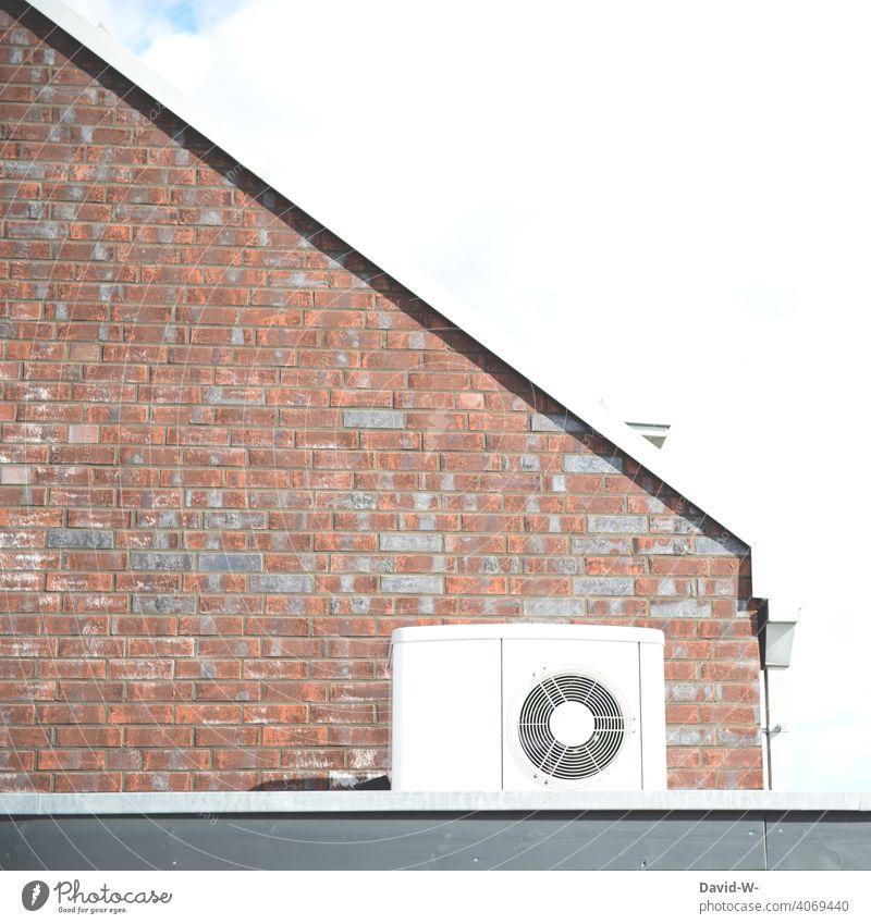Luftwärmepumpe - erneurbare Energie Heizungstechnik Wärmepumpe Luftwasserwärmepumpe Luft-Wasser-Wärmepumpe nachhaltig innovativ umweltfreundlich ökologisch