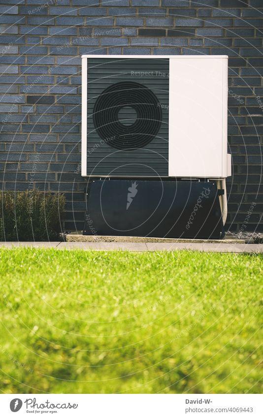 Luftwärmepumpe - umweltfreundliche Heiztechnik Luftwasserwärmepumpe Energiegewinnung innovativ Wärme nachhaltig Wärmepumpe Heizungstechnik Umweltschutz