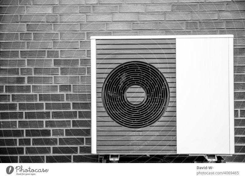 Luftwärmepumpe - ökologisch, nachhaltig und modern Luftwasserwärmepumpe Wärme Wärmepumpe Heizungstechnik Umweltschutz innovativ Ventilatoren