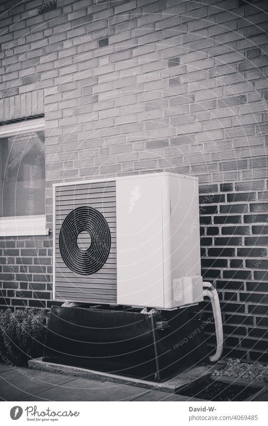 Luftwärmepumpe - innovativ und Umweltfreundlich Luftwasserwärmepumpe Wärme Wärmepumpe Heizungstechnik Umweltschutz ökologisch nachhaltig Ventilatoren
