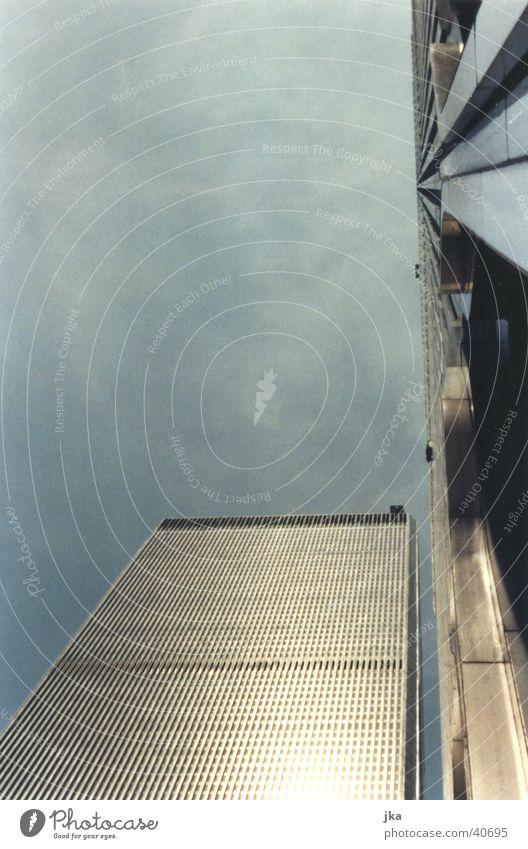 als sie noch standen Gebäude Architektur Hochhaus modern USA Mitte Dienstleistungsgewerbe Stahl New York City Einkaufszentrum New York State World Trade Center