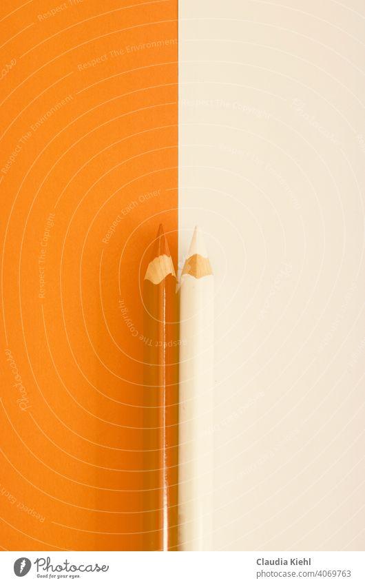 Buntstifte malen zeichnen bunt Freizeit & Hobby Kreativität mehrfarbig Schreibwaren Kunst Stifte Farbe Farbstift Duo zweifarbig Minimalismus minimalistisch