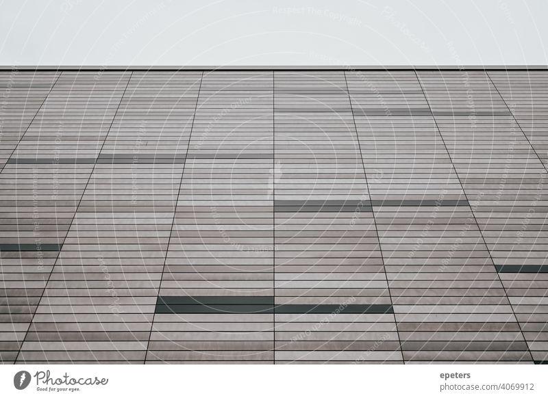 Wand eines abstrakt aussehenden Hauses Oberhafen Hintergrund schwarz blanko Sauberkeit Nahaufnahme Textfreiraum dunkel Design dreckig leer geometrisch Geometrie