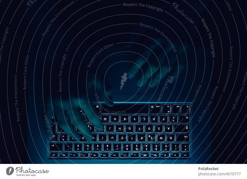 #AS# Am Tippen Lifestyle Büro Arbeit Arbeitsplatz arbeiten Business modern Technik & Technologie Laptop Computer Notebook Homeoffice Kommunikation Chatten