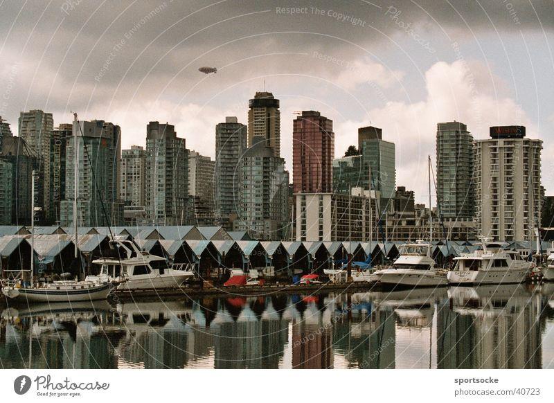 Vancouver Stadt Gebäude Architektur Hochhaus Skyline Kanada