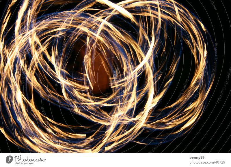feuerpois Nacht jonglieren Geschwindigkeit Zirkus Freizeit & Hobby Brand Kreis Kiwido Tanzen