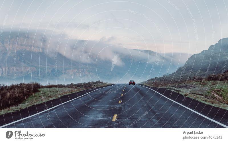 Antrieb HWY 17 A Laufwerk Grant Grafschaft Autobahn 17 Landschaft Straße Washington