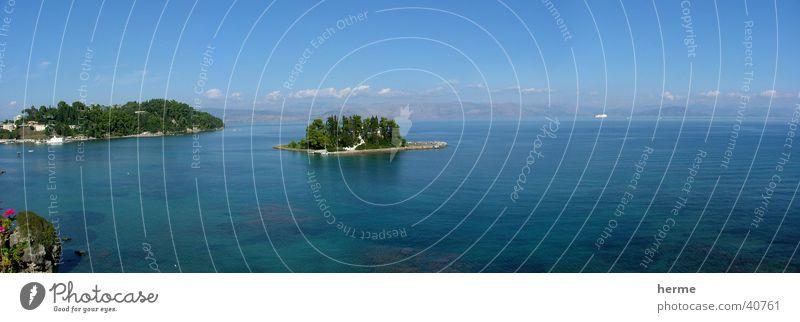 Mäuse Insel - Strand am Mittelmeer Meer Umwelt Natur Landschaft Pflanze Tier Wasser Schönes Wetter Küste Bucht Korallenriff schön Horizont Leben Europa Farbfoto