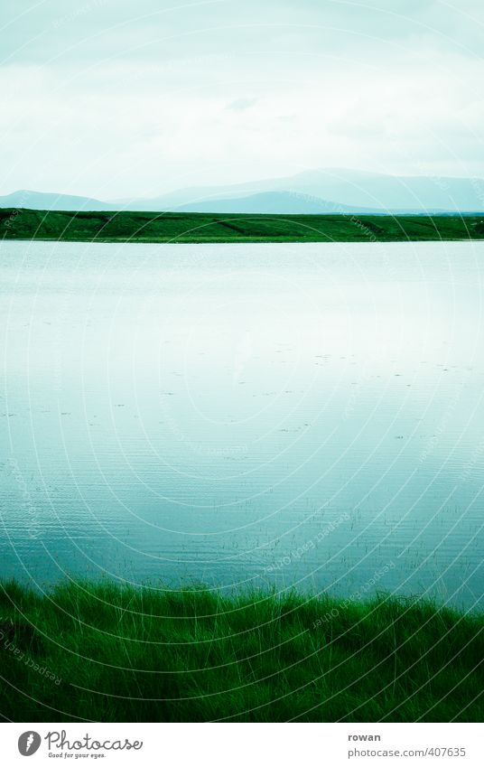 am see Natur Landschaft Himmel Gras Sträucher Garten Park Wiese Feld Küste Seeufer Flussufer Bucht Teich frei frisch Sauberkeit Glätte Wasser ruhig Erholung