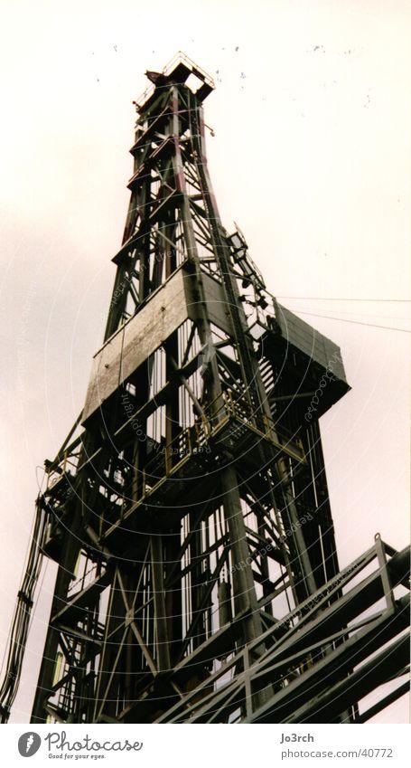 Bohrung 2 Industrie Erdöl Gas Durchbruch Erdgas fördern